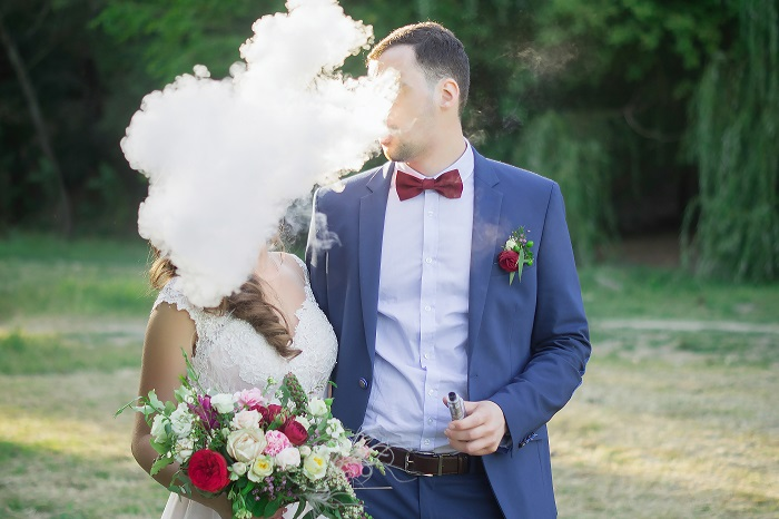 Vape Wedding: The Newest Trend for the Teenagers